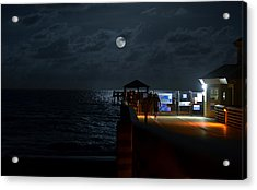 The Last Outpost Acrylic Print by Laura Fasulo