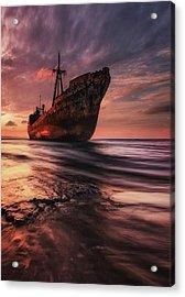 The Last Port Acrylic Print by