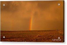 The Last Rainbow Acrylic Print