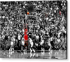 The Last Shot 2 Acrylic Print by Brian Reaves