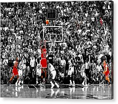 The Last Shot 4 Acrylic Print by Brian Reaves