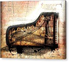 The Last Sonata Acrylic Print by Gary Bodnar