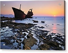 The Last Stand Acrylic Print by Mary Kay