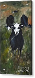 Acrylic Print featuring the painting The Last Straw by Carol Sweetwood