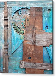 Acrylic Print featuring the sculpture The Last Summer C1986 by Paul Ashby