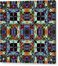 The Last Supper Abstract 20130130p0 Acrylic Print by Wingsdomain Art and Photography