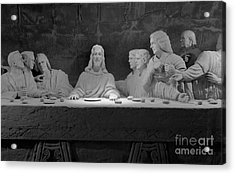 The Last Supper Acrylic Print by David Ricketts
