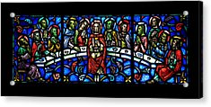 The Last Supper Acrylic Print by Stephen Stookey
