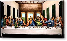 The Last Supper Acrylic Print by Todd Spaur