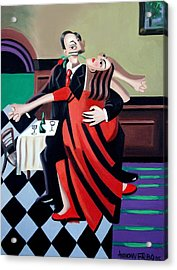The Last Tango Acrylic Print by Anthony Falbo