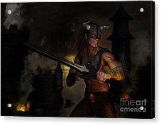 The Last Warrior Acrylic Print