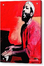 The Late Great Marvin Gaye Acrylic Print