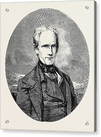 The Late Henry Clay Acrylic Print by English School