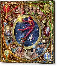 The Legacy Of The Devine Tarot Acrylic Print by Ciro Marchetti
