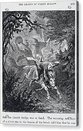 The Legend Of Sleepy Hollow Acrylic Print by British Library