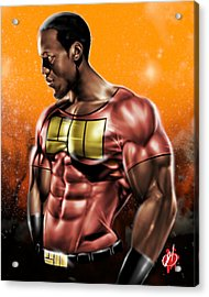 The Legend Of Will Power Acrylic Print