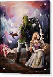 The Legend Of Zelda Acrylic Print