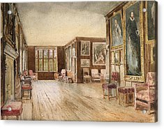 The Leicester Gallery, Knole House Acrylic Print