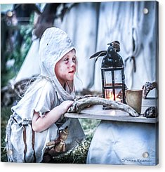 Acrylic Print featuring the photograph The Leprosy Child And The Healing Lantern by Stwayne Keubrick