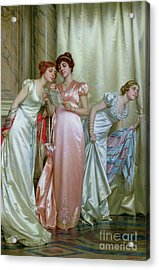 The Letter Acrylic Print by Vittorio Reggianini
