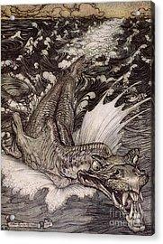 The Leviathan Acrylic Print