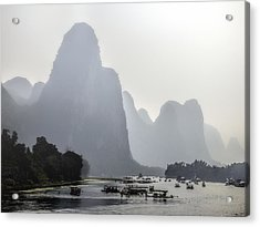 The Li River China Acrylic Print