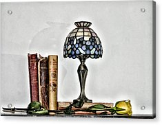 The Library Acrylic Print by Bill Cannon