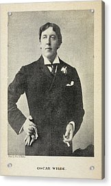 The Life Of Oscar Wilde Acrylic Print by British Library