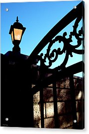 The Light And The Gate Acrylic Print by Glenn McCarthy Art and Photography