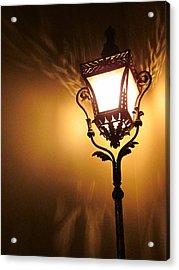 The Light Dances Acrylic Print by Guy Ricketts