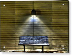 The Light Of Solitary  Acrylic Print by Jimmy Ostgard