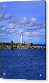 The Light Of St Ignace Acrylic Print
