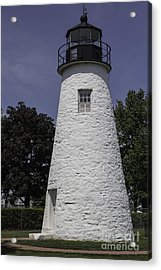 The Lighthouse At Concord Point Acrylic Print