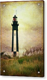 The Lighthouse Acrylic Print by Barbara Manis