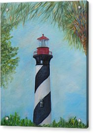 The Lighthouse In St. Augustine Florida Acrylic Print
