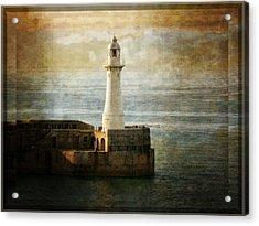 The Lighthouse Acrylic Print by Lucinda Walter