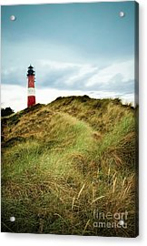 the lighthouse of Hoernum Acrylic Print by Hannes Cmarits