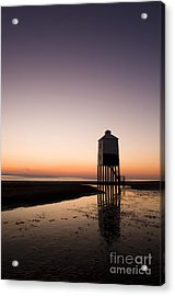 The Lighthouse On Legs Acrylic Print by Anne Gilbert