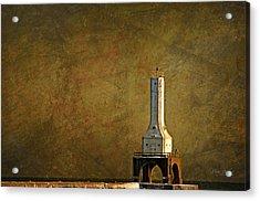 The Lighthouse - Port Washington Acrylic Print by Mary Machare