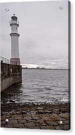 Acrylic Print featuring the photograph The Lighthouse by Sergey Simanovsky