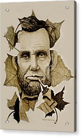The Lincoln Leaf Acrylic Print