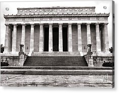 The Lincoln Memorial Acrylic Print by Olivier Le Queinec