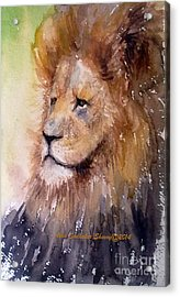 The Lion King Acrylic Print