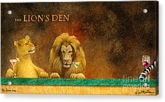 The Lion's Den... Acrylic Print