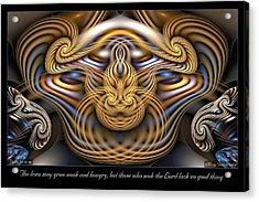 The Lions Acrylic Print