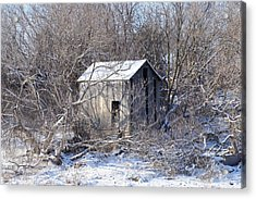 The Little Barn Acrylic Print