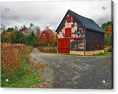 The Little Barn Acrylic Print by Marcia Colelli