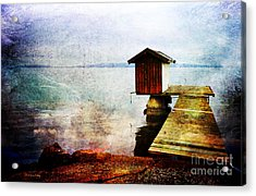 The Little Bath House Acrylic Print