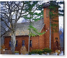 The Little Brown Church In The Vale Acrylic Print by Kirt Tisdale