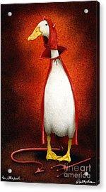 The Little Devil... Acrylic Print by Will Bullas